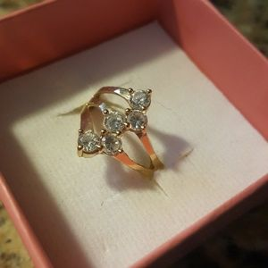 Jewelry - Gold CUBIC zirconia Ring